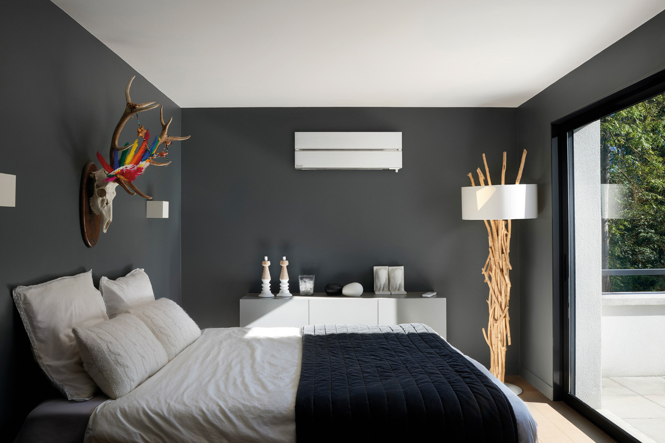Airco op slaapkamer